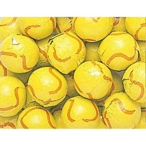 Chocolate Foil Tennis Balls 5 Pounds