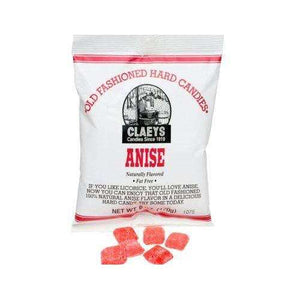 Claeys Natural Anise Hard Candy 6 Ounce 24 Count