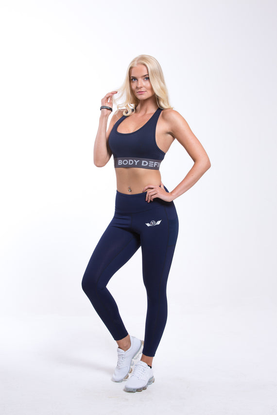 SIRIUS High Waist Leggings - Navy