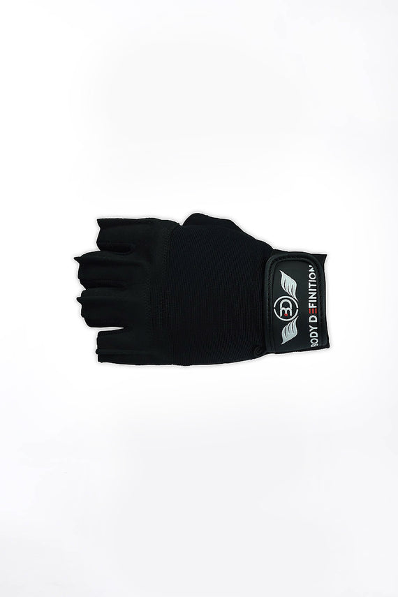 Mens Weight Lifting Gloves Short Straps Body Definition