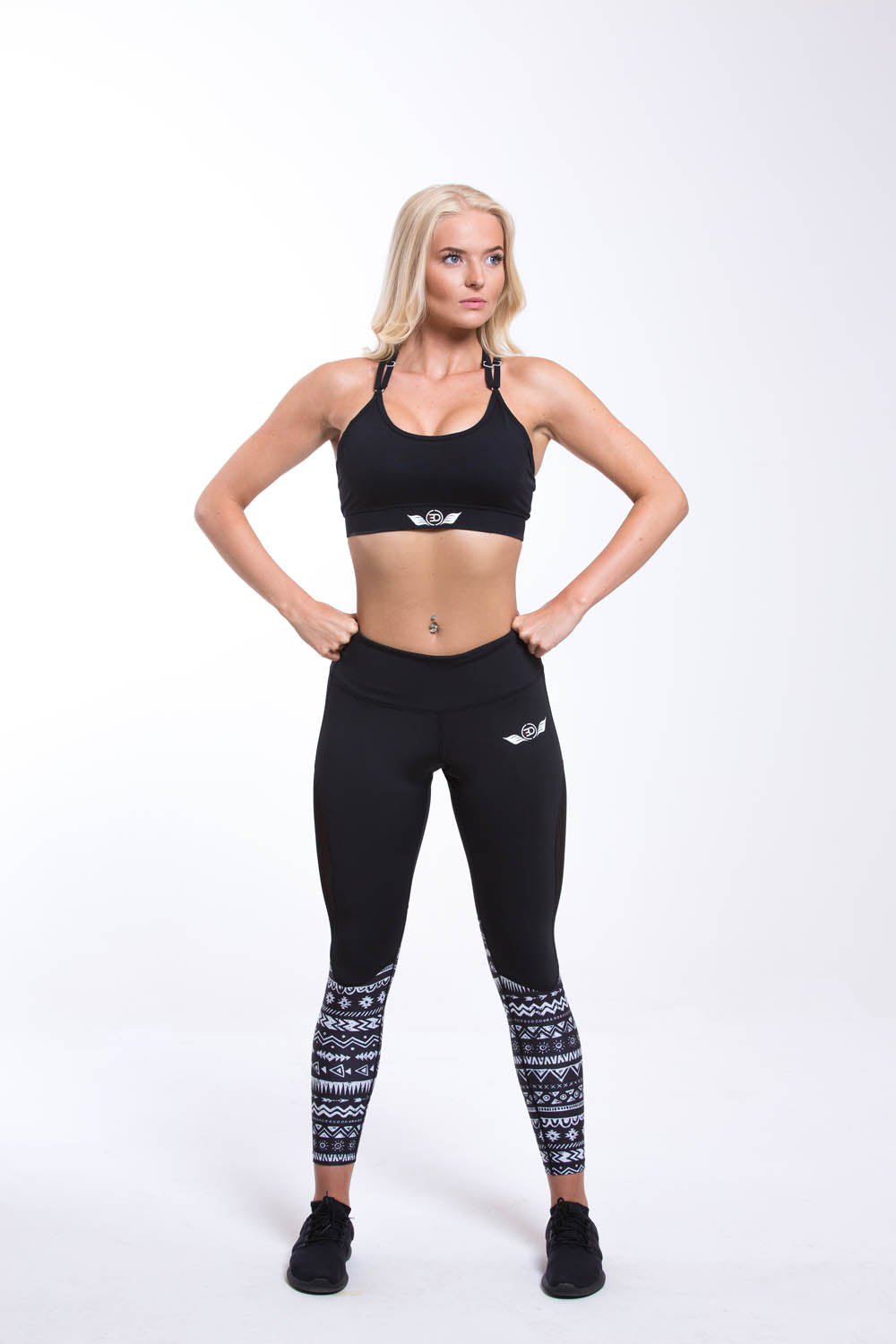 ORION Sports Bra Black