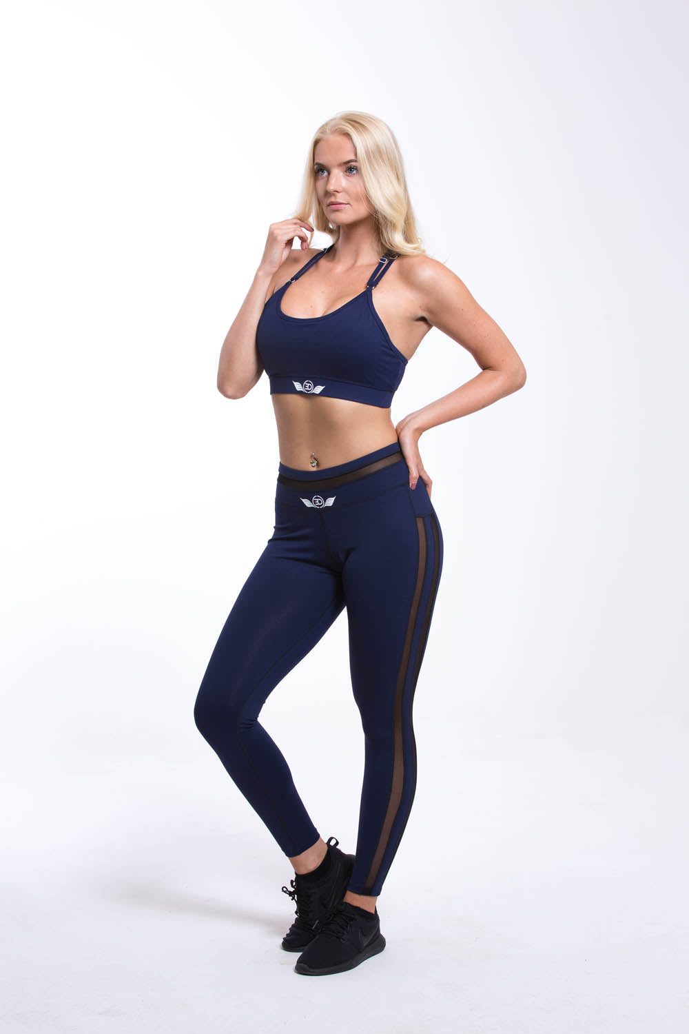 ORION Sports Bra - Navy
