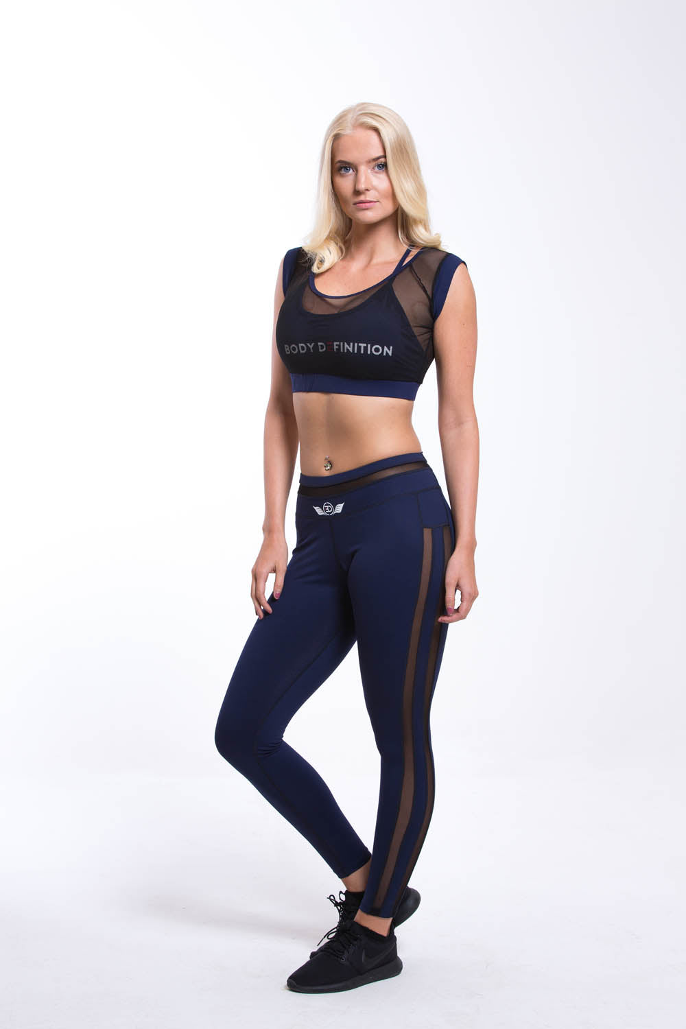 LAPIS Sports Bra - Navy