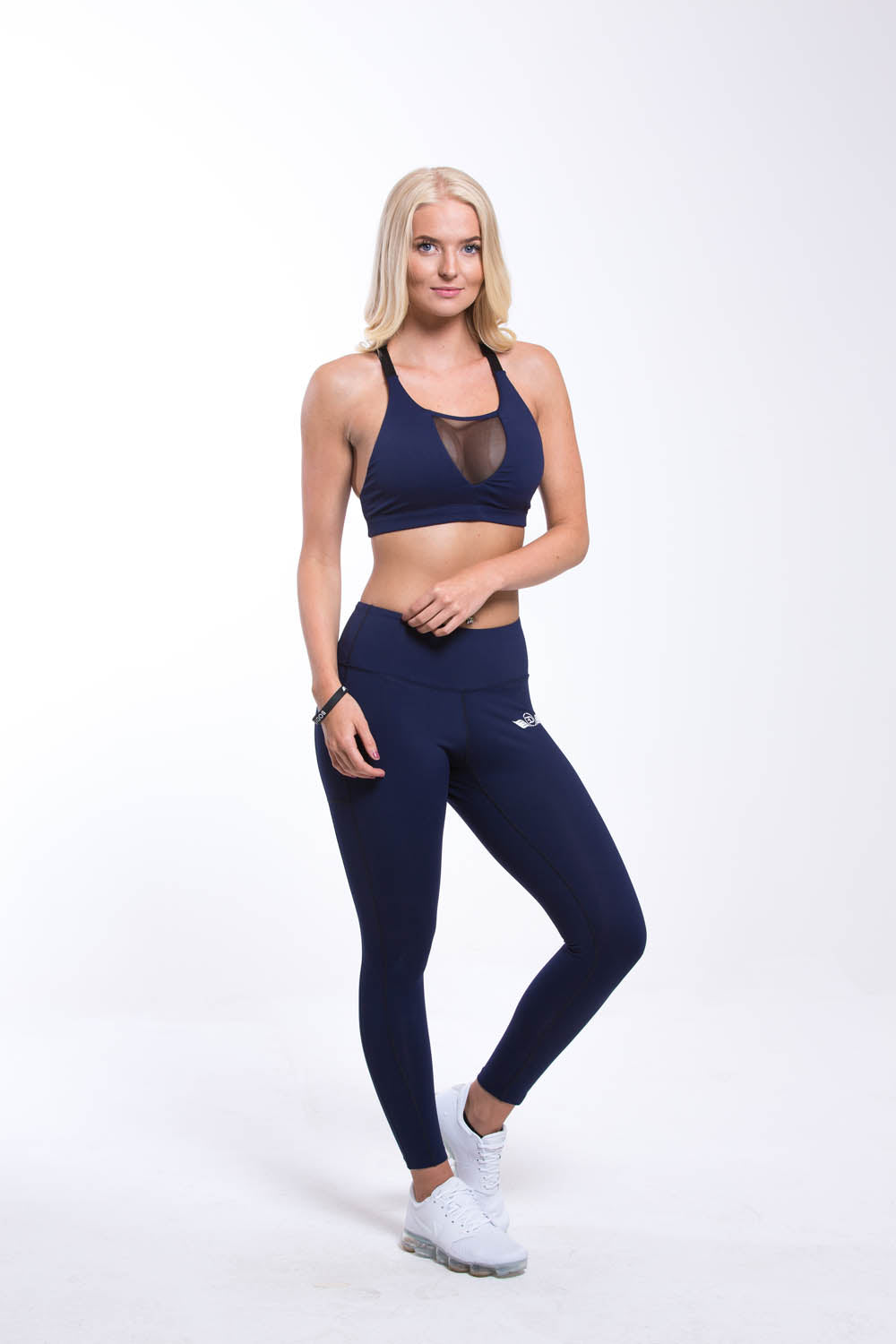 NEFER Sports Bra Navy