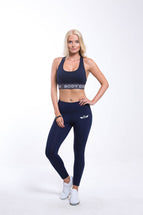 SIRIUS High Waist Leggins Navy