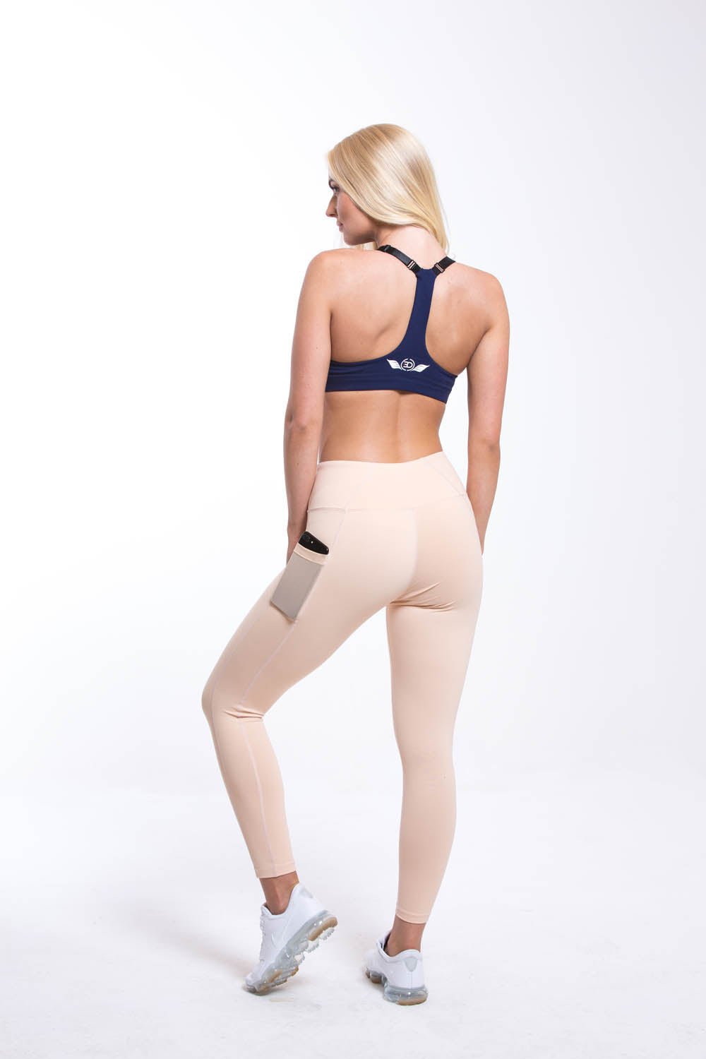 SIRIUS High Waist Leggings - Nude