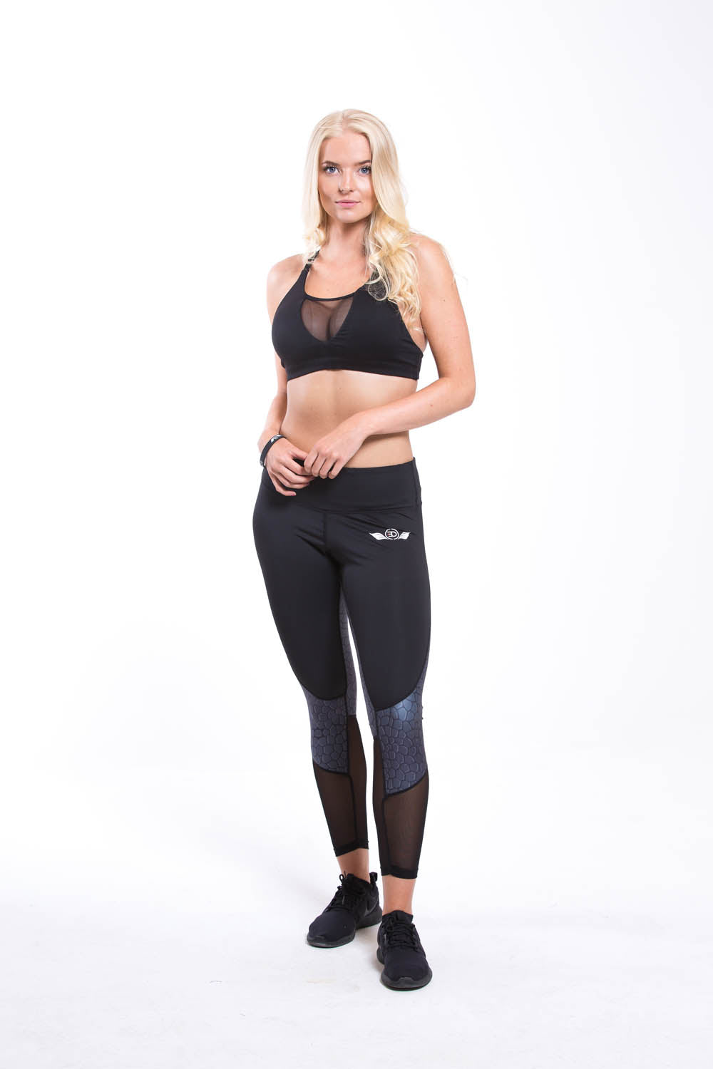 NEFER Sports Bra Black