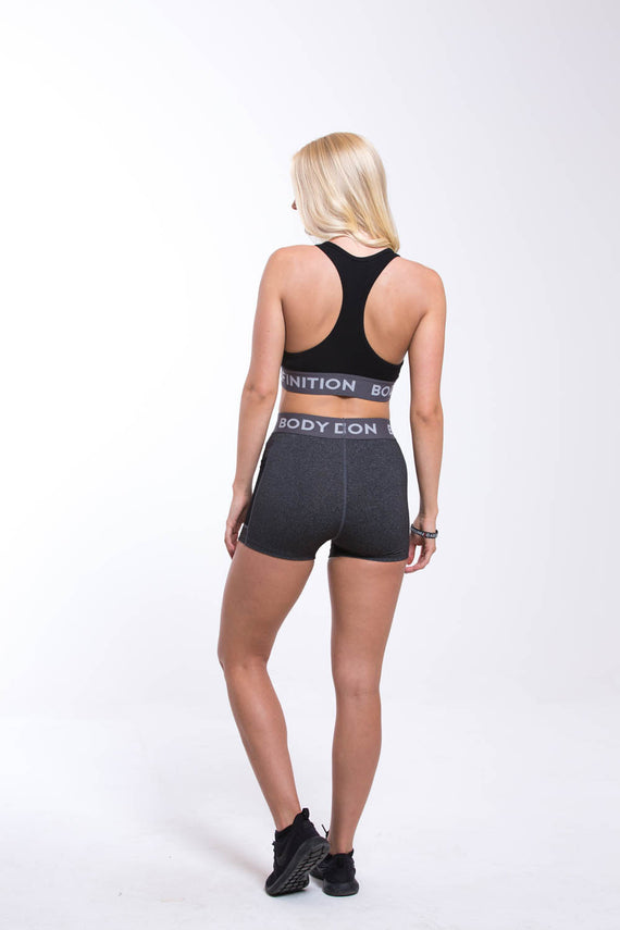 Womens Shorts Grey