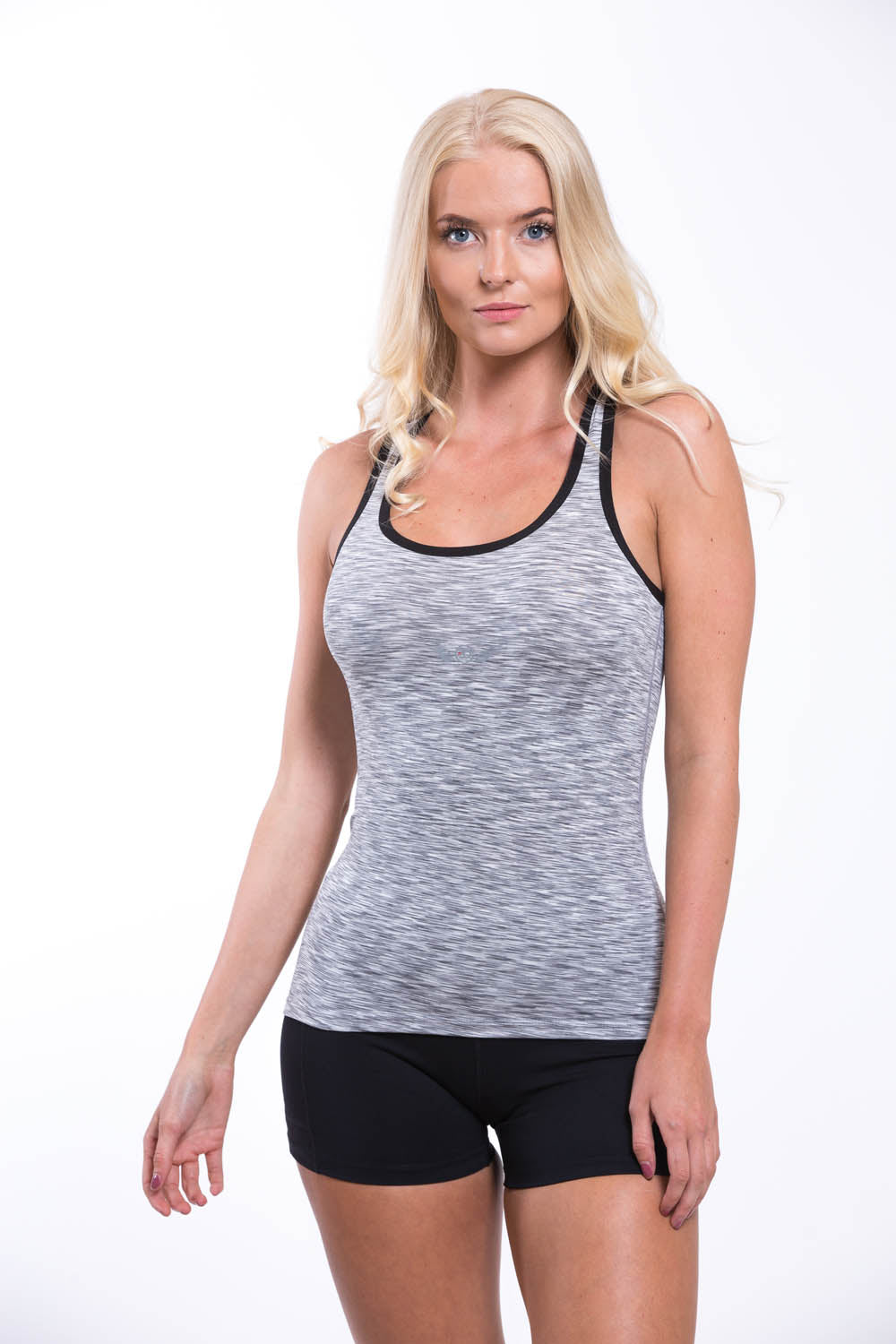 Womens Dry Fit Vest Light Grey