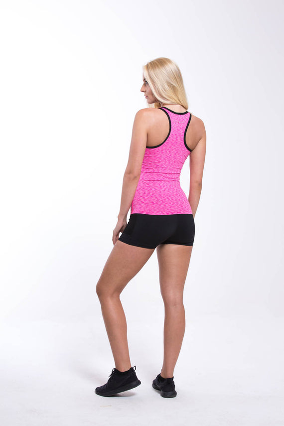 Womens Dry Fit Vest Pink