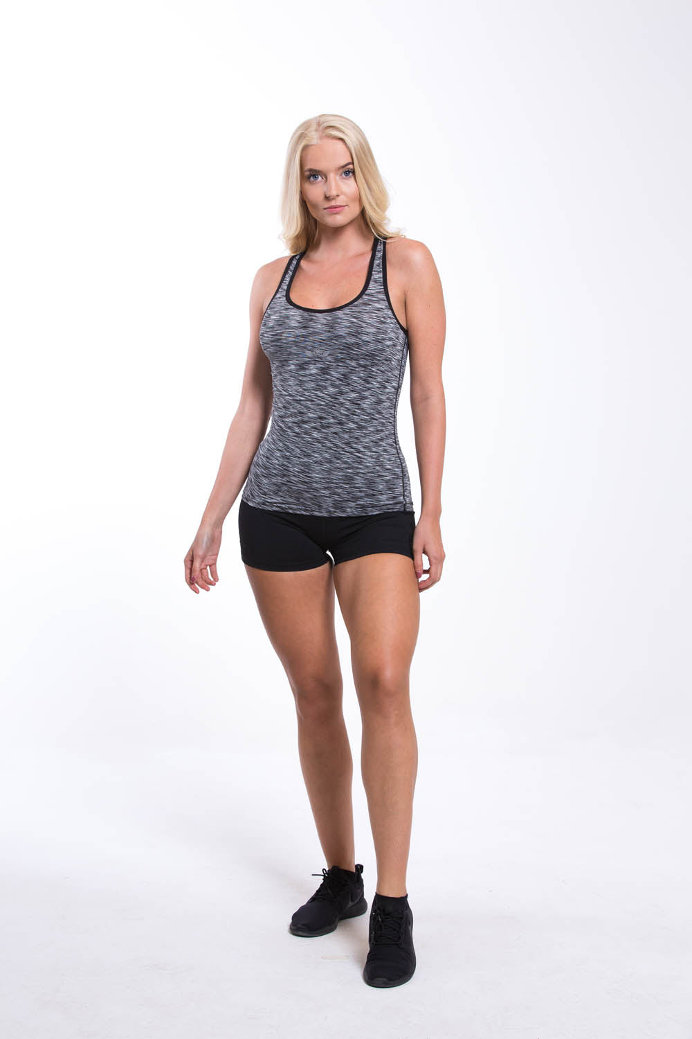 Womens Dry Fit Vest Dark Grey