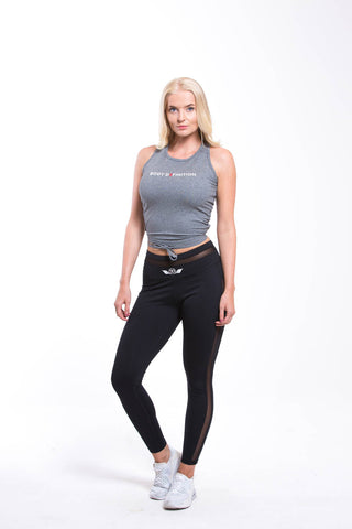 ATEN Cropped Top - Black