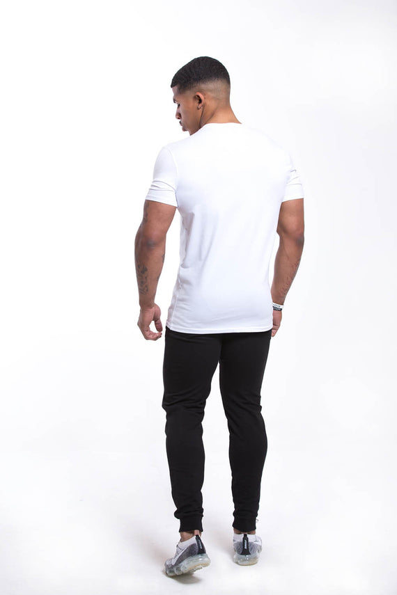 SETH V Neck T-shirt White