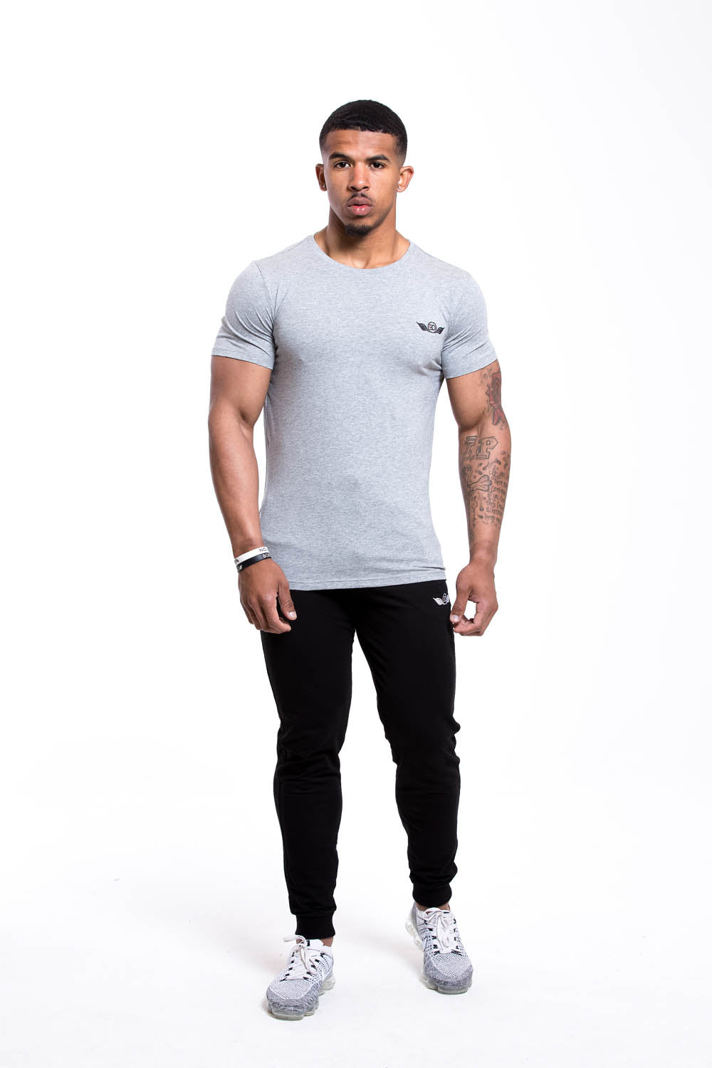 SETH Round Neck T-shirt - Grey
