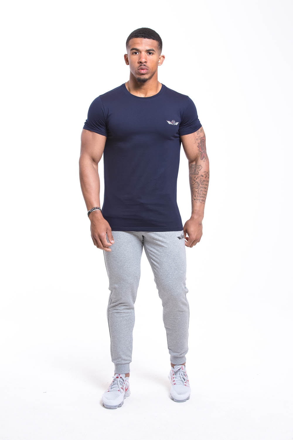 SETH Round Neck T-shirt - Navy