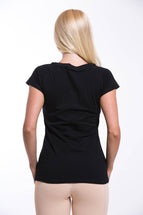 OMARI Round Neck T-shirt Black