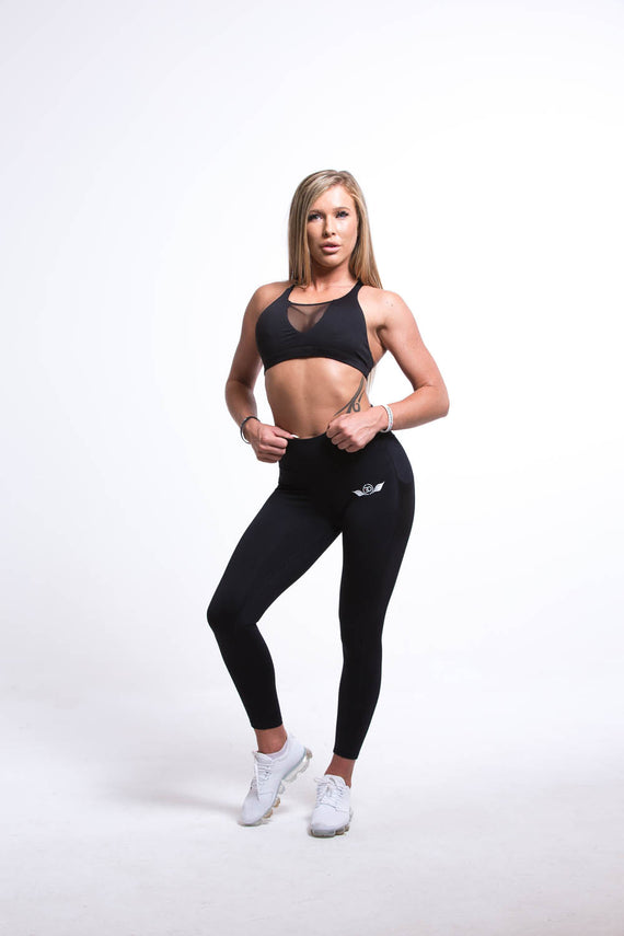 SIRIUS High Waist Leggins Black