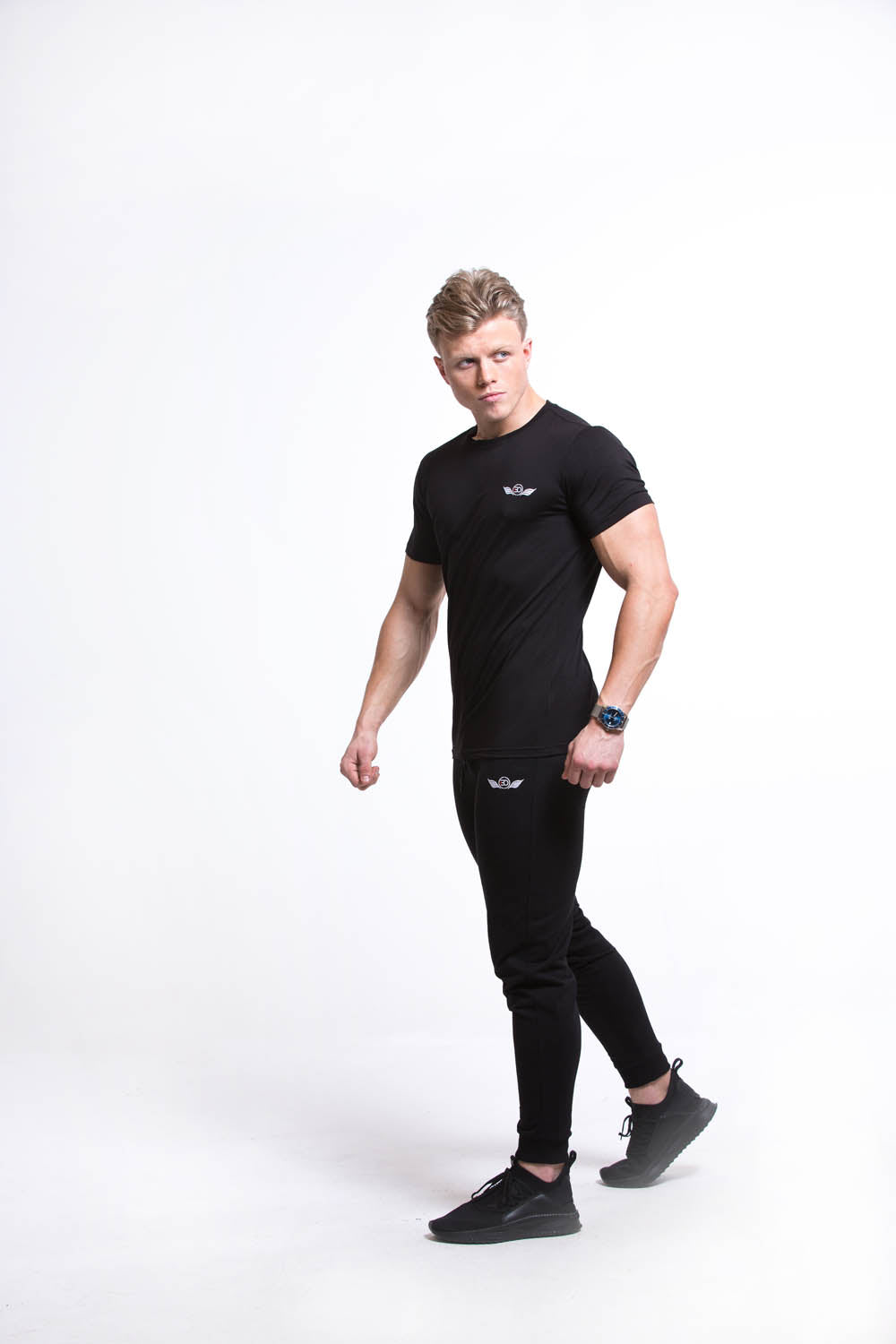 SETH Round Neck T-shirt - Black