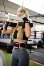 Pink Weight Lifting Belt Body Definition