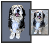 Custom Dog Portrait-MrsCopyCat