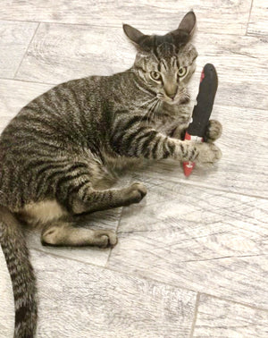 Bloody Knife | Catnip Toy-MrsCopyCat