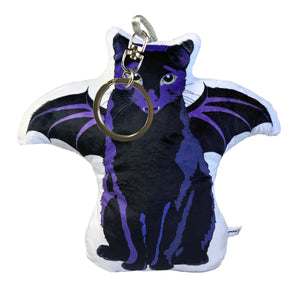 Bat Cat Shaped Plush Pillow | Mercury-MrsCopyCat