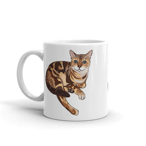 Bengal Cat Coffee Mug | Leo-MrsCopyCat