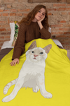 Flame Point Kitten Cat Throw Blanket | Jinx-MrsCopyCat