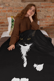 Tuxedo Cat Throw Blanket | Picasso-MrsCopyCat