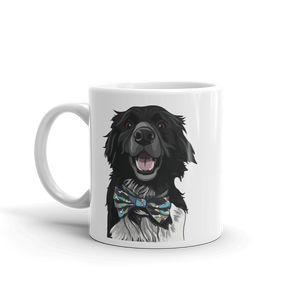 Border Collie Ceramic Coffee Mug - mrscopycat