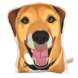 Hound Mix Shaped Plush Pillow | Journey-MrsCopyCat