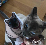 Siamese Cat shaped Catnip Toy - mrscopycat