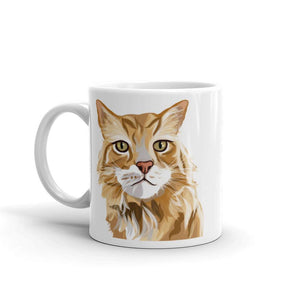 Maine Coon Cat Coffee Mug | Gus-MrsCopyCat