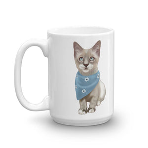 Lynx Point Siamese Kitten Coffee Mug | Sully-MrsCopyCat
