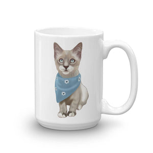 Lynx Point Kitten Mug - mrscopycat