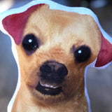 Chihuahua Shaped Plush Pillow-MrsCopyCat