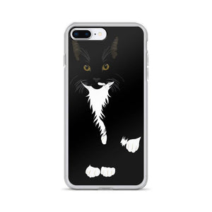 Tuxedo Cat iPhone Case Black | Picasso-MrsCopyCat