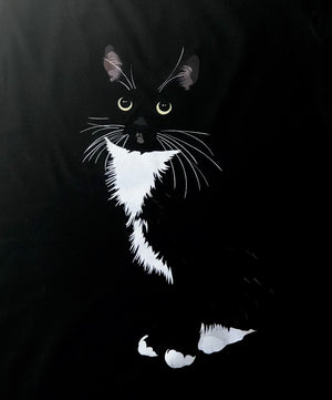 Tuxedo Cat T-Shirt  for Women | Paloma-MrsCopyCat
