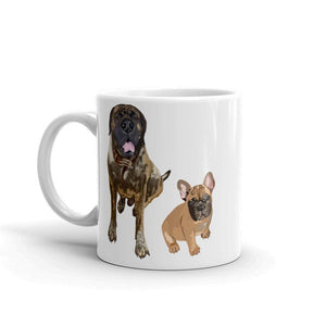 Funny Bulldogs Mug | We Didn't Fart! - mrscopycat