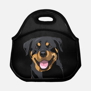 Rottweiler Lunch Tote - mrscopycat