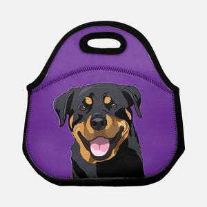 Rottweiler Lunch Tote-MrsCopyCat