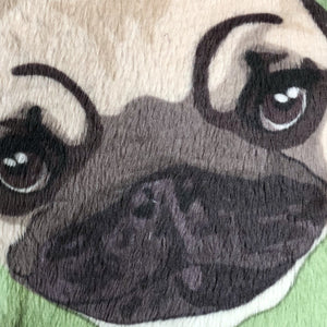 Otis the Pug Walsh in a Lady Liberty Costume Pillow Pet