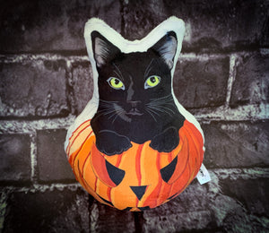 Halloween Pumpkin Cat Plush | Mercury-MrsCopyCat