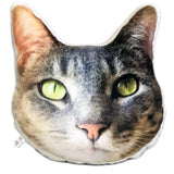 Custom Pet Face Pillow | Head Shaped Plushie - mrscopycat