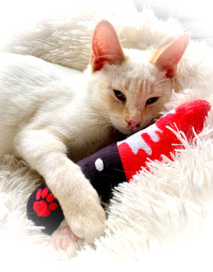 Catnip Toy Bloody Knife-MrsCopyCat