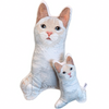 Flame Point Cat Shaped Plush Pillow | Jinx-MrsCopyCat