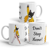 Freddie Mercury Cat Mug | Don't Stop Meow - mrscopycat