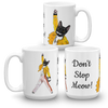 Freddie Mercury Cat Mug | Don't Stop Meow-MrsCopyCat