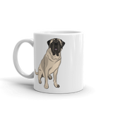 Mastiff Butt Coffee Mug-MrsCopyCat