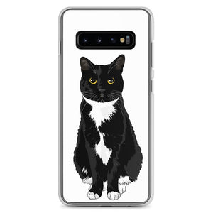 Tuxedo Cat Samsung Phone Case | Paloma White-MrsCopyCat
